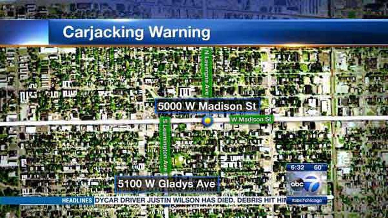 Police are warning residents of two men carjacking drivers in Chicagos Austin neighborhood.