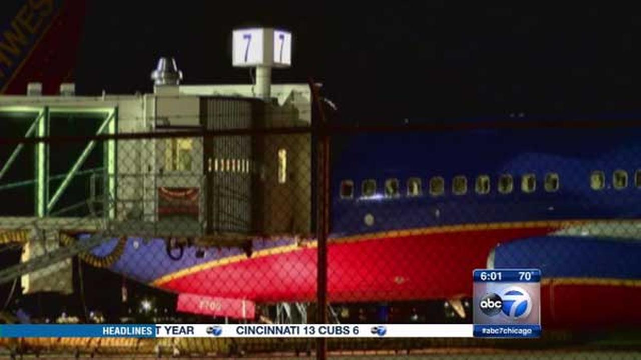 A Southwest Airlines flight heading from San Diego to Chicago was forced to land in Amarillo, Texas, after an argument broke out on board.