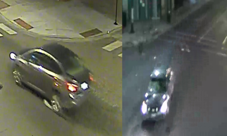 Police are searching for two cars that were involved in a fatal hit-and-run crash early Tuesday on the South Side.