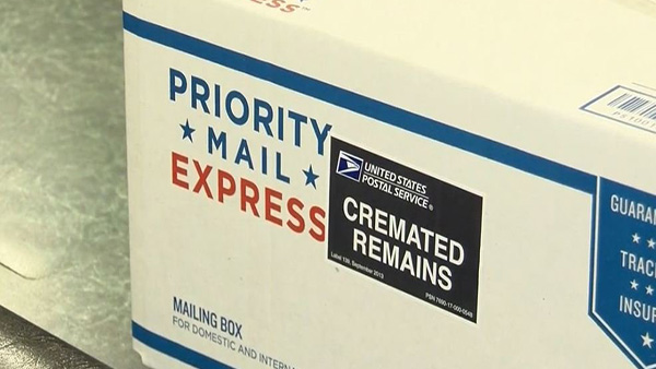 A Las Vegas cremation business is pleading with a package thief to return stolen ashes.