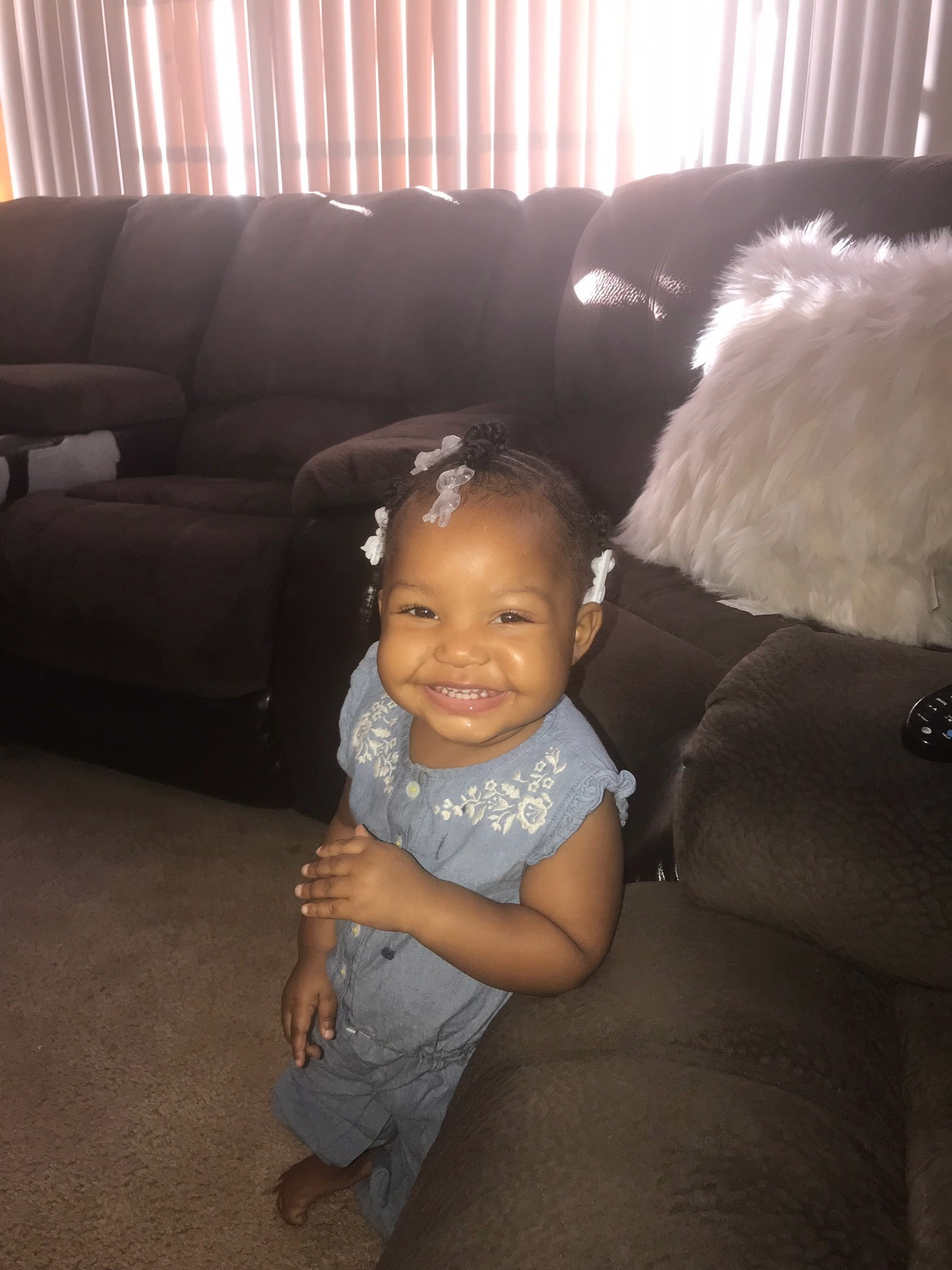 Kylee Jones, 7 months