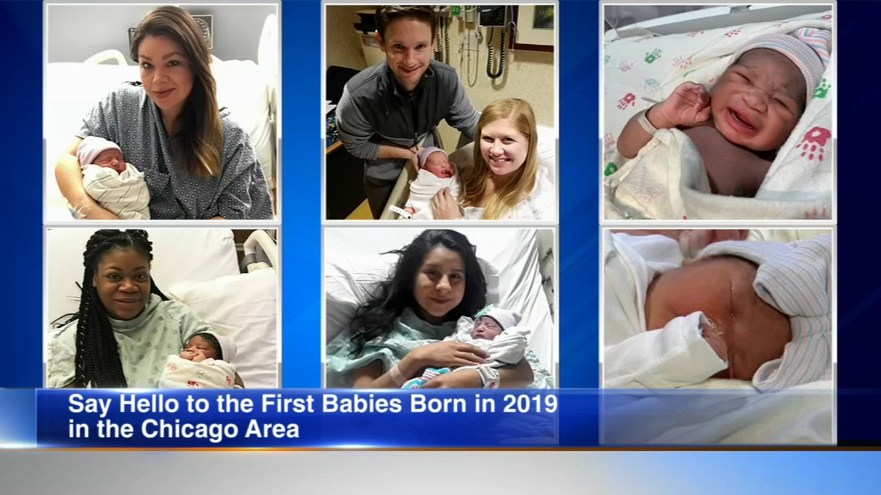 Several Chicago area hospitals have already seen the first babies born in 2019.