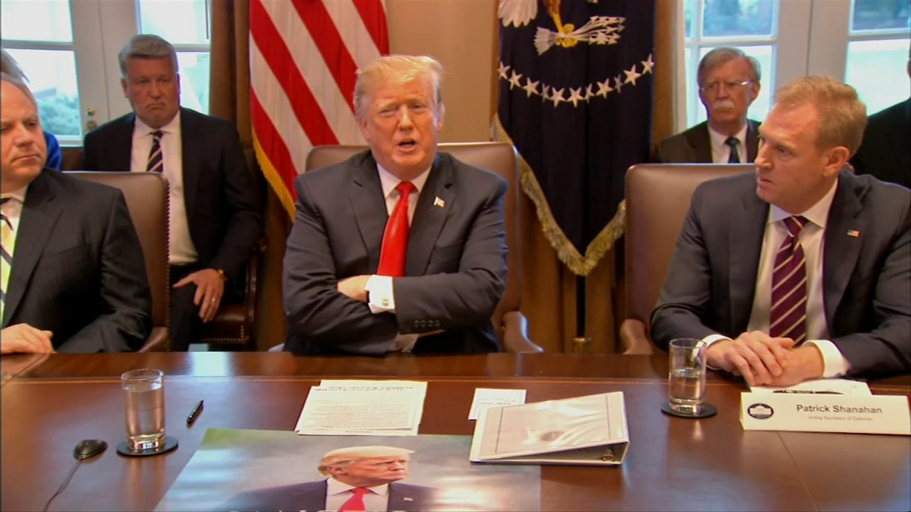 No one budged at President Donald Trumps closed-door meeting with congressional leaders Wednesday, so the partial government shutdown persisted.