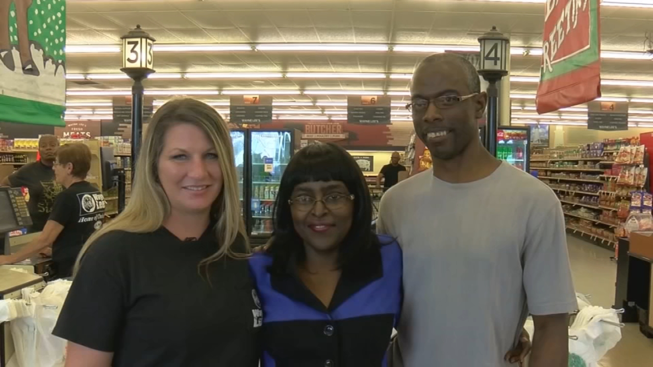 Eddie Drummond stops at Wayne Lees Grocery every day for breakfast and always greets employees with a smile. But one day, they noticed something was wrong.