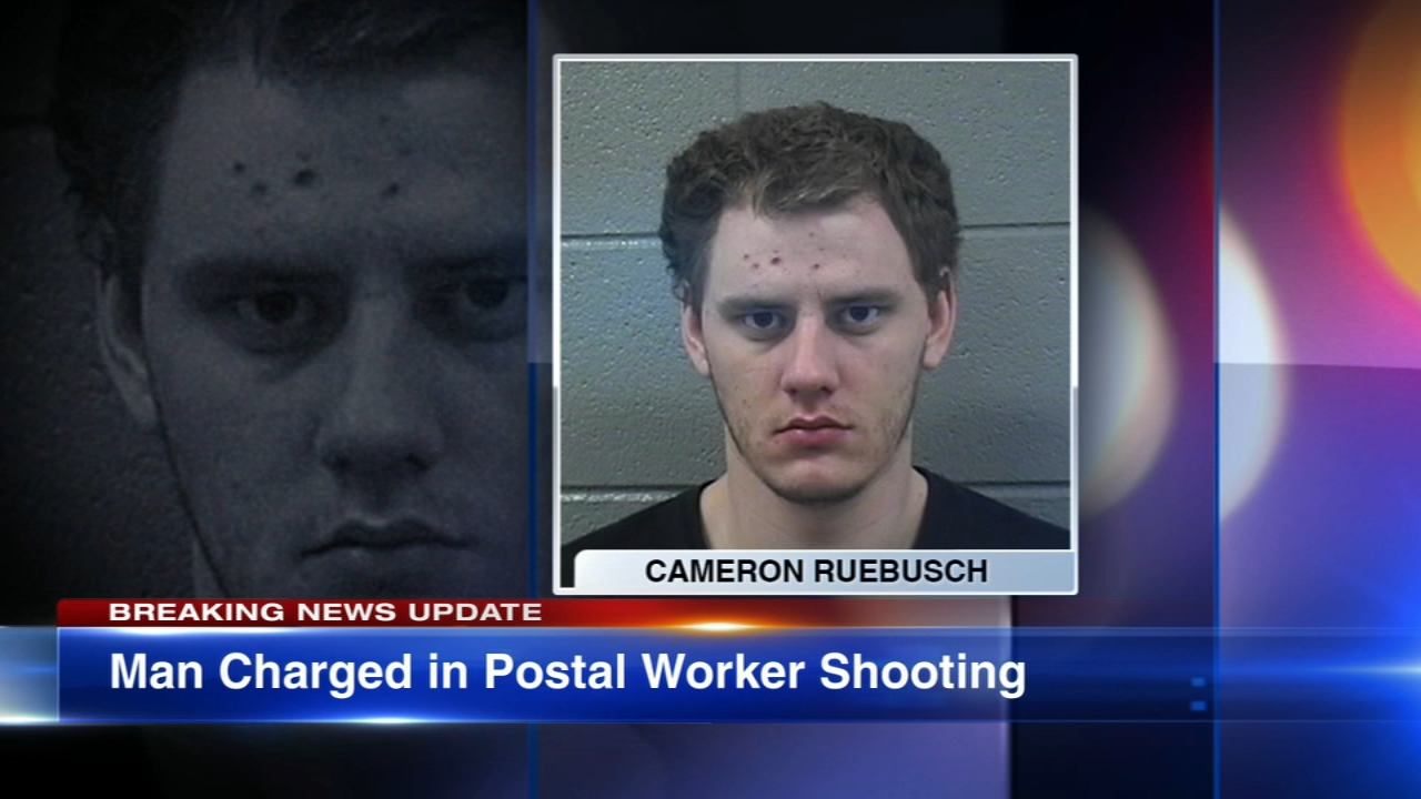 Federal charges have been filed against a man in the shooting of a U.S. postal worker on New Years Eve in Elk Grove Village.