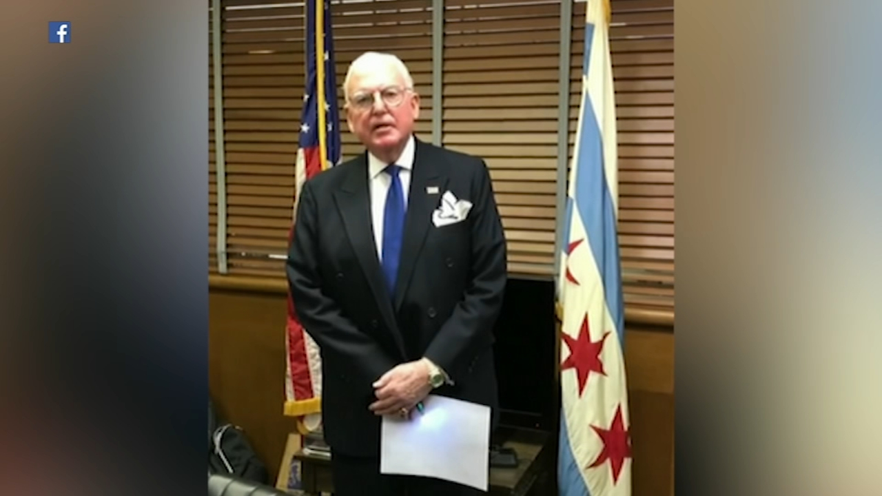 One day after he was charged with attempted extortion, Chicago Alderman Ed Burke reassured his supporters he is running for re-election.