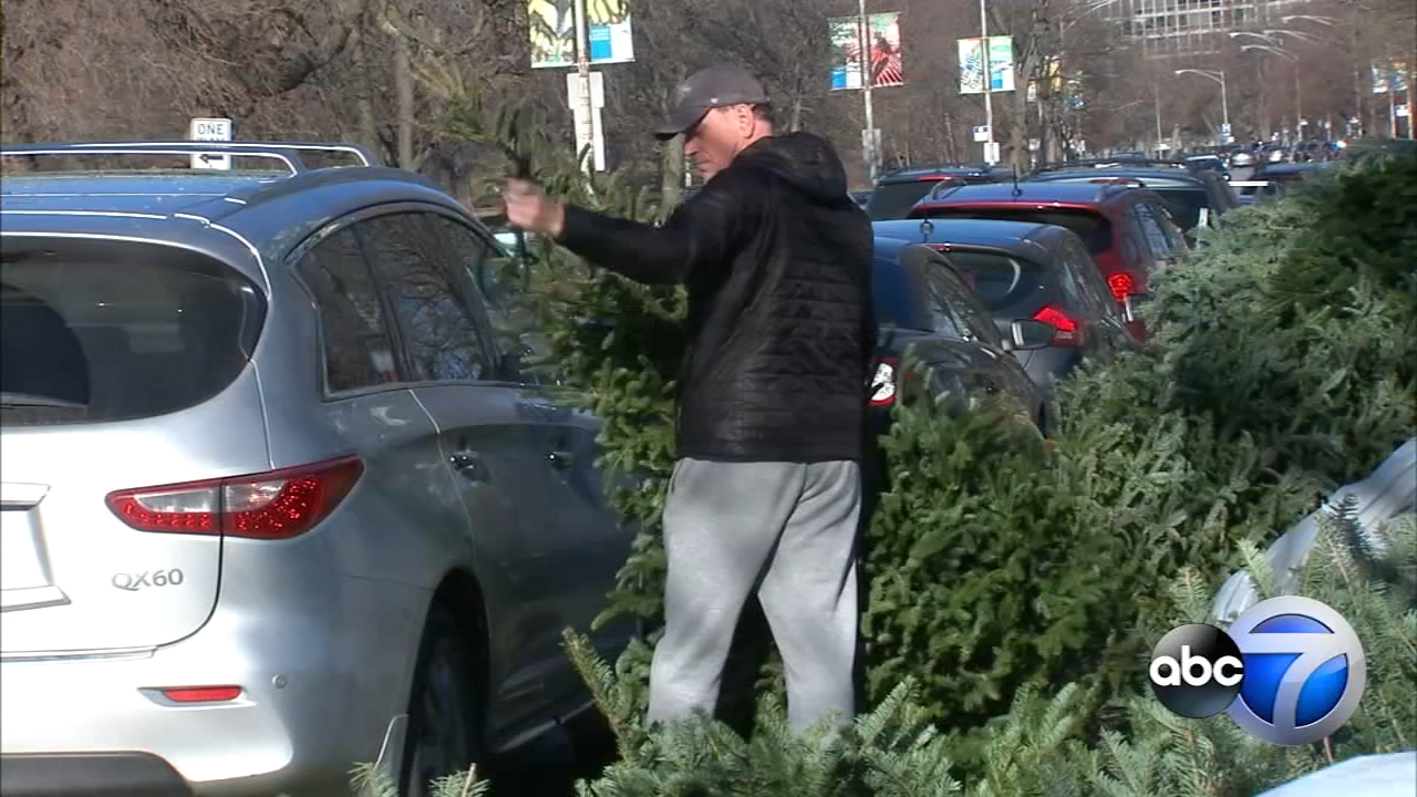 Beginning January 5, youll be able to take your live Christmas trees drop it off at 25 different locations throughout Chicago.