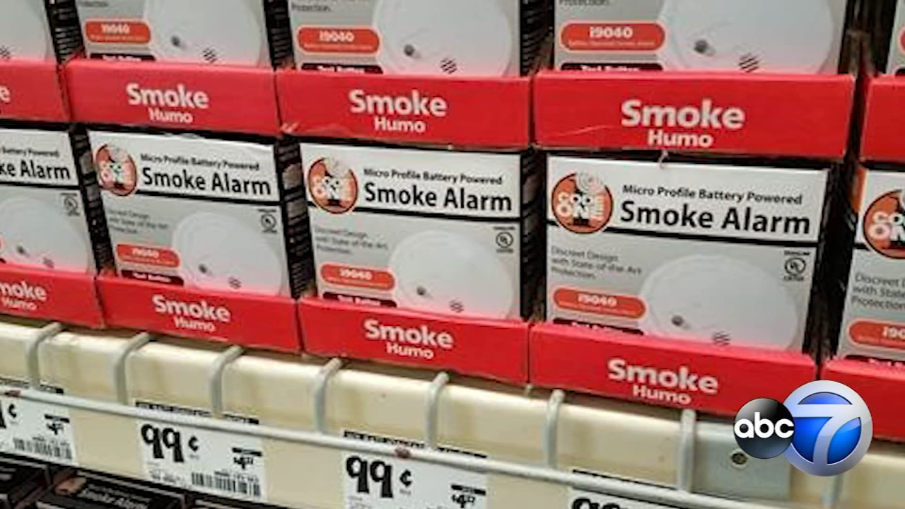 Chicago residents can buy smoke detectors for 99 cents at 11 Home Depot stores throughout the city this weekend.   (Photo Credit: Chicaog Fire Department)