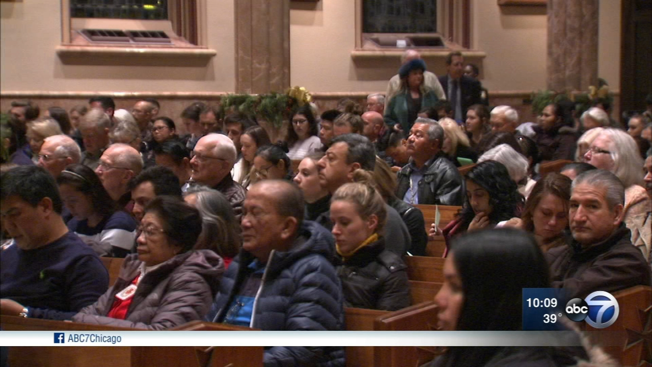 A special Mass was held Sunday night at Holy Name Cathedral in Chicago to mark the beginning of National Migration Week.