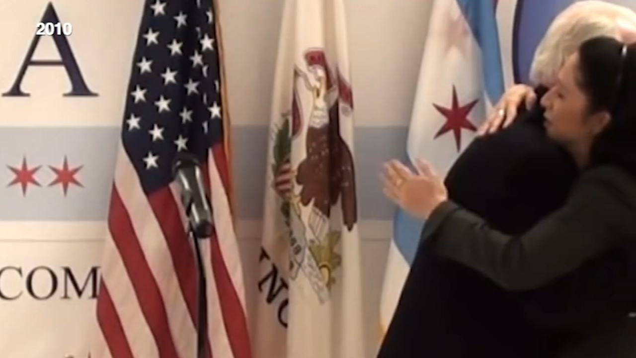 Some old video is stirring up new fireworks in the race for Chicago mayor.