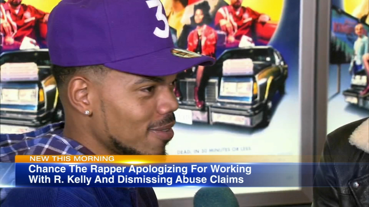 Chance the Rapper has apologized for working with rapper R-Kelly nearly four years ago on the song Somewhere in Paradise.