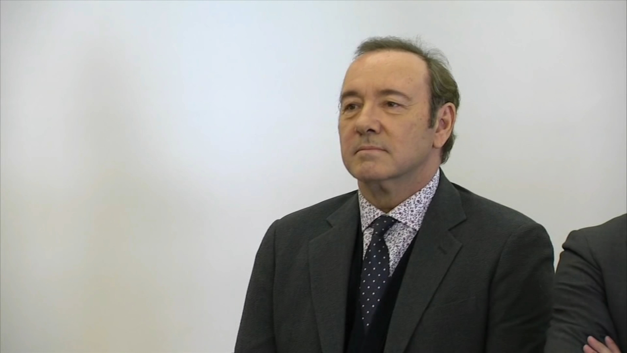 Actor Kevin Spacey appeared before a judge Monday morning facing accusations that he got a man drunk and then groped him.