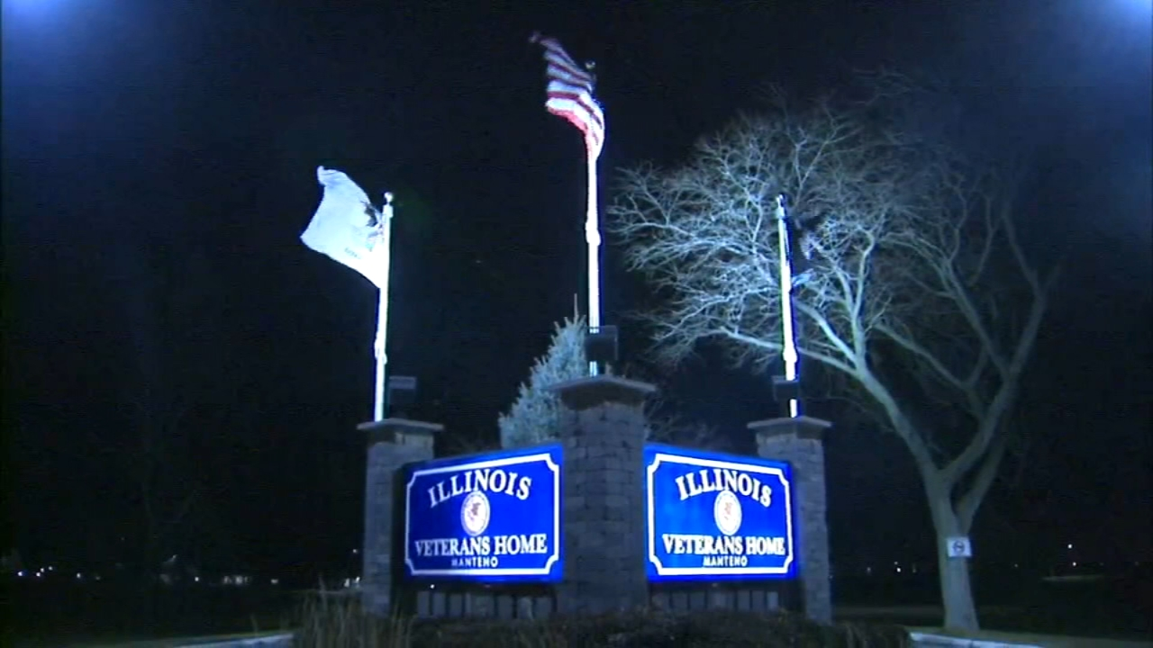 The Illinois Department of Veterans Affairs said a resident of the  Manteno Veterans Home was diagnosed with Legionnaires disease Tuesday morning.