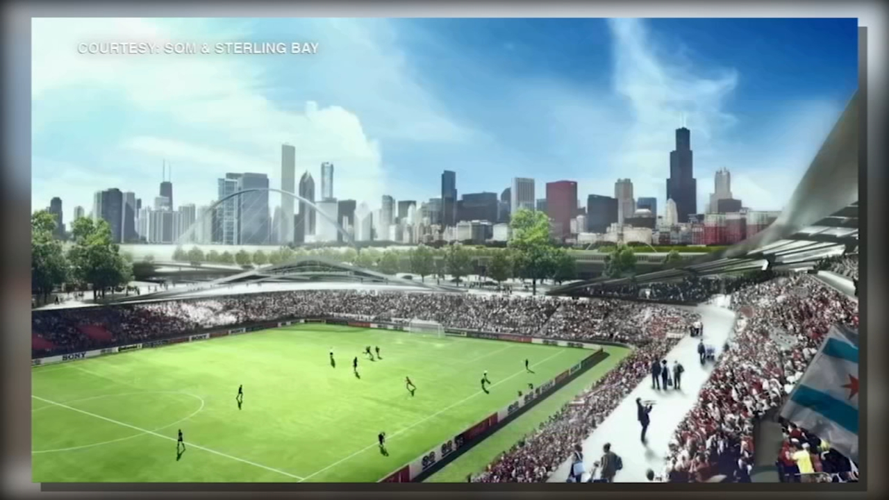 Plans for the Lincoln Yards soccer stadium on Chicagos North Side have been rejected by Alderman Brian Hopkins.
