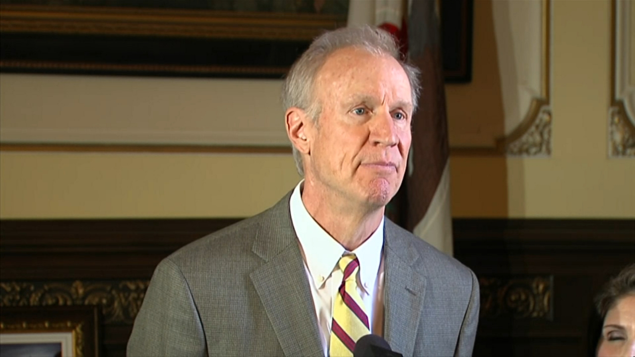 It may have been Governor Bruce Rauners swan song Tuesday as he prepares to leave office in just a few days.