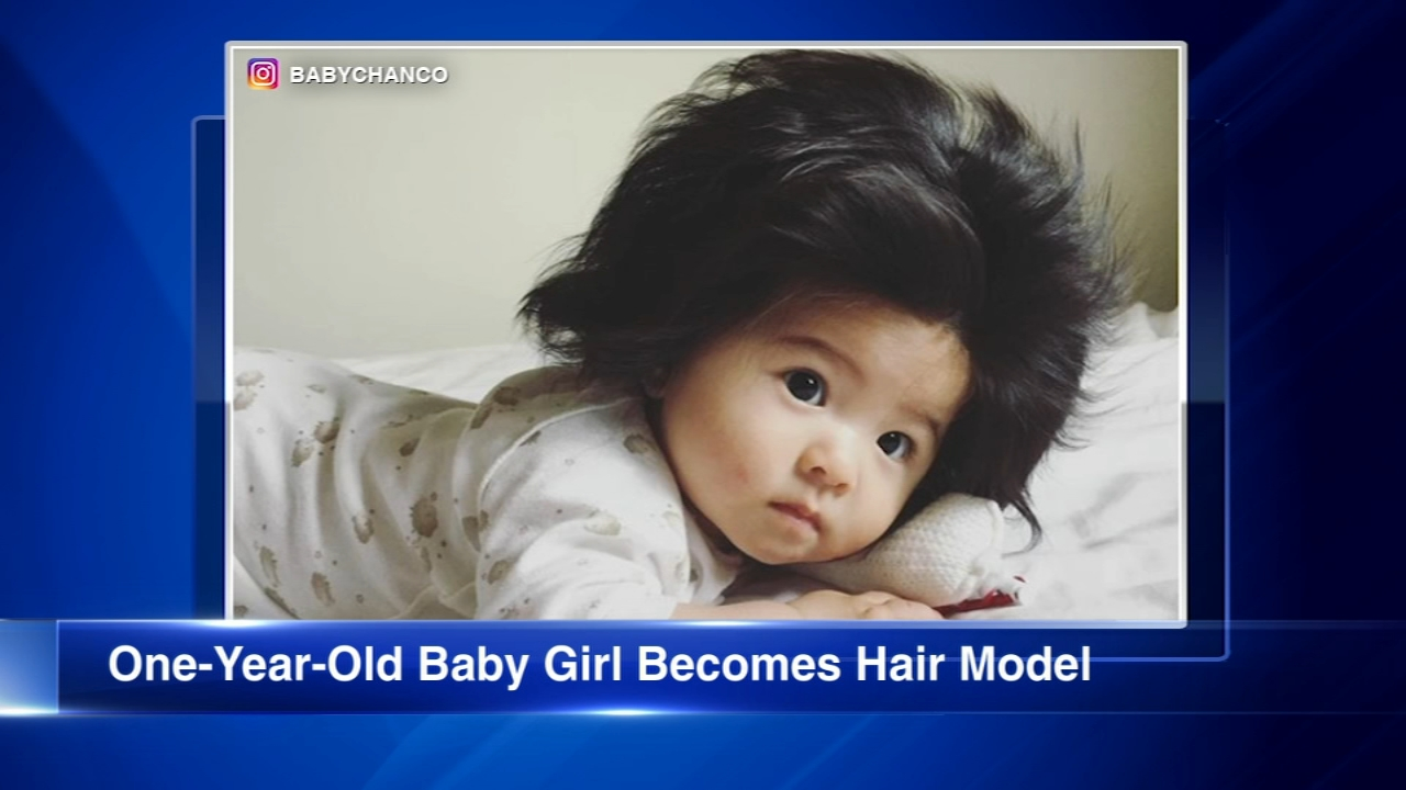 She was born with it, baby. A 1-year-old from Japan is mesmerizing Instagram with her thick, gorgeous, voluminous, full head of hair.