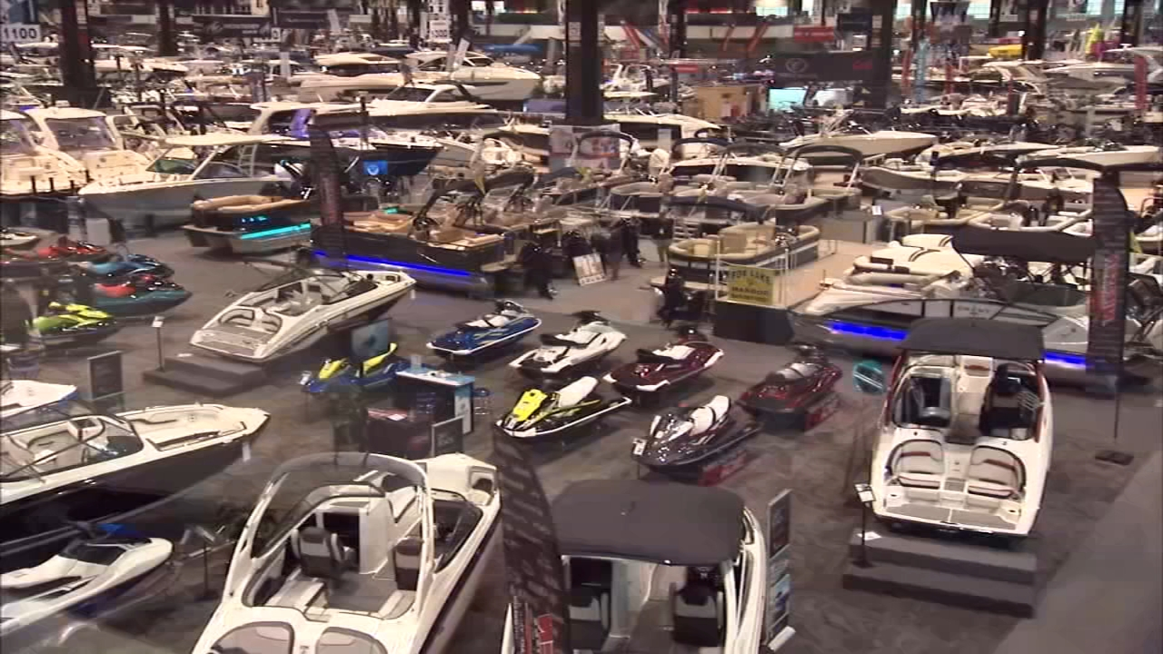 The Chicago Boat, RV and Sail Show opened Wednesday and runs through Sunday at the McCormick Place.
