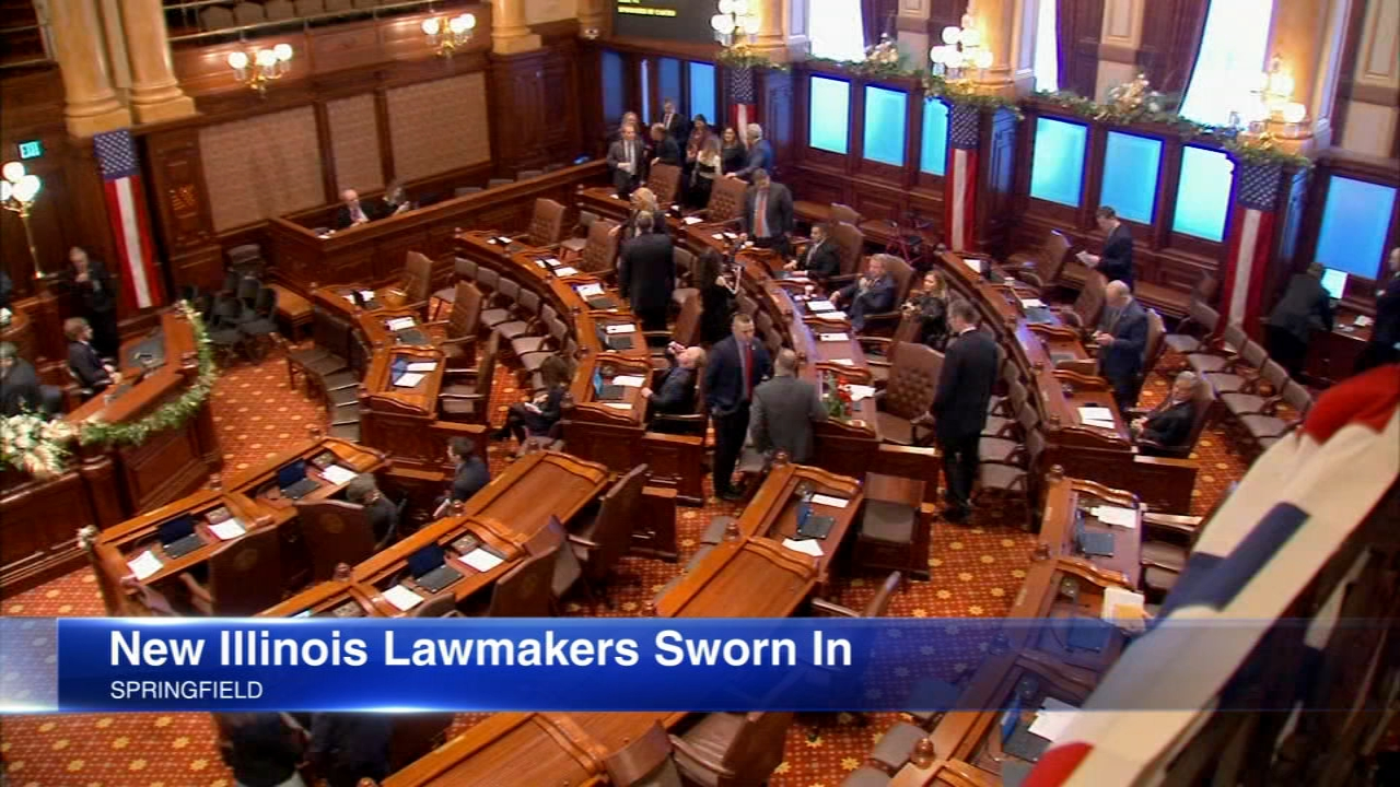 Illinois 101st General Assembly with be sworn in Wednesday with a lot of new faces and, for Democrats, an even tighter grip on power.