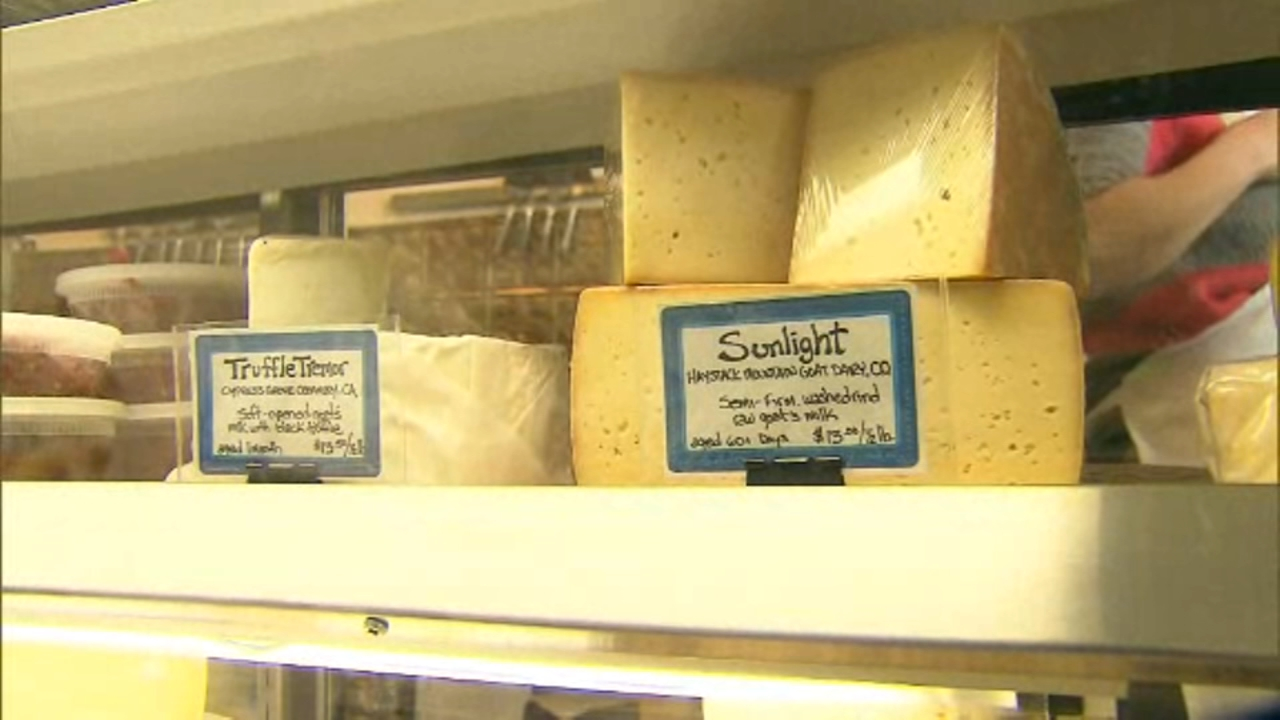Roughly 1.4 billion pounds of cheese is currently in cold storage across the country.