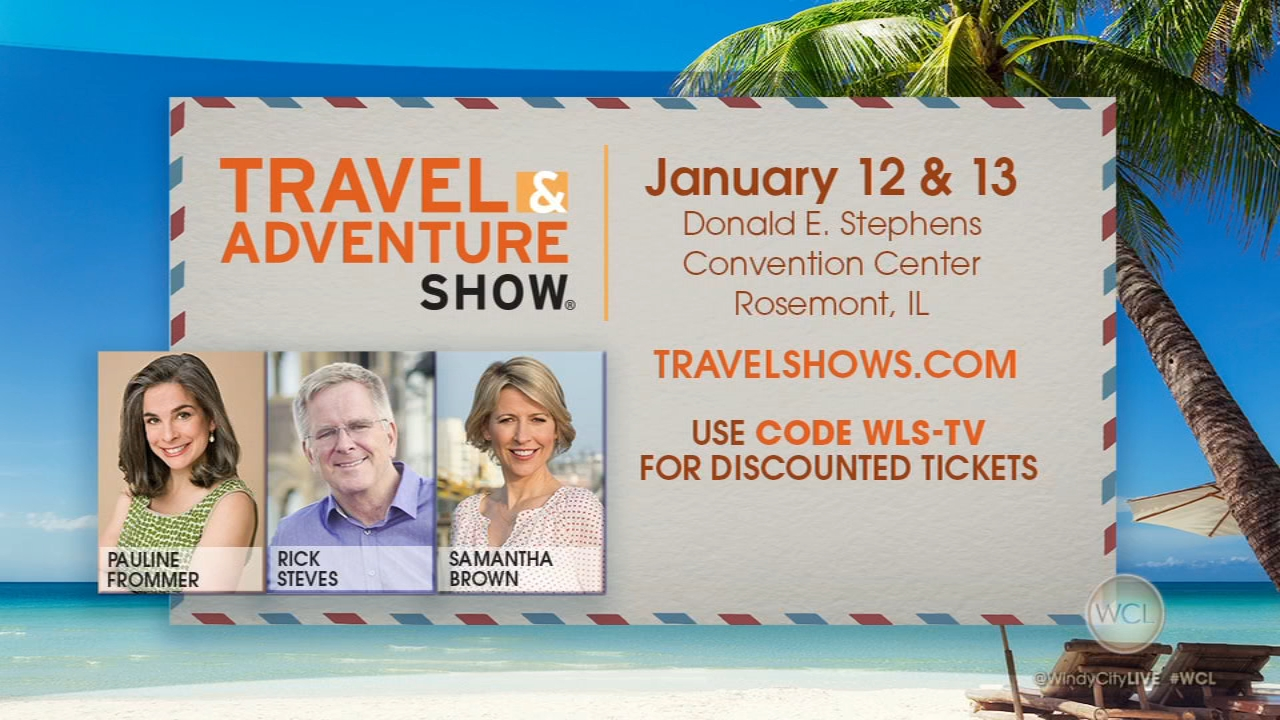 The Chicago Travel and Adventure Show runs Saturday and Sunday.