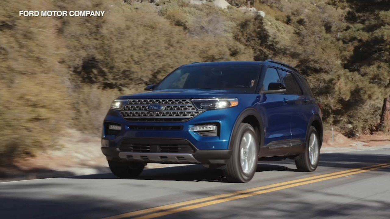 The 2020 Ford Explorer was showcased Wednesday night at the auto show in Detroit.