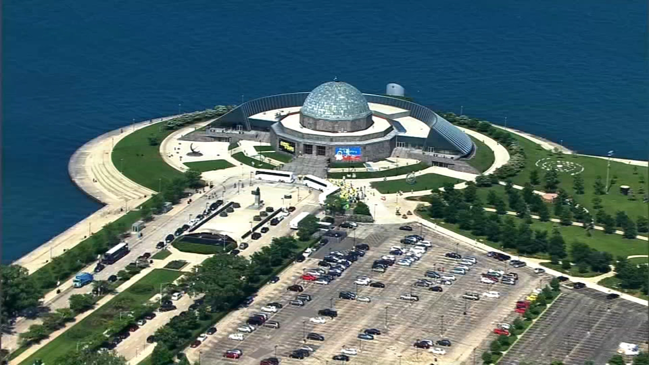 The Adler Planetarium is offering free admission for employees of the federal government who are furloughed or working without pay during the shutdown.