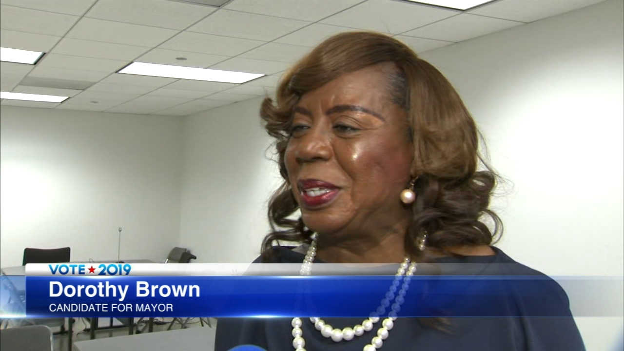 Chicago mayoral candidate Dorothy Brown gets to stay in the race for now.