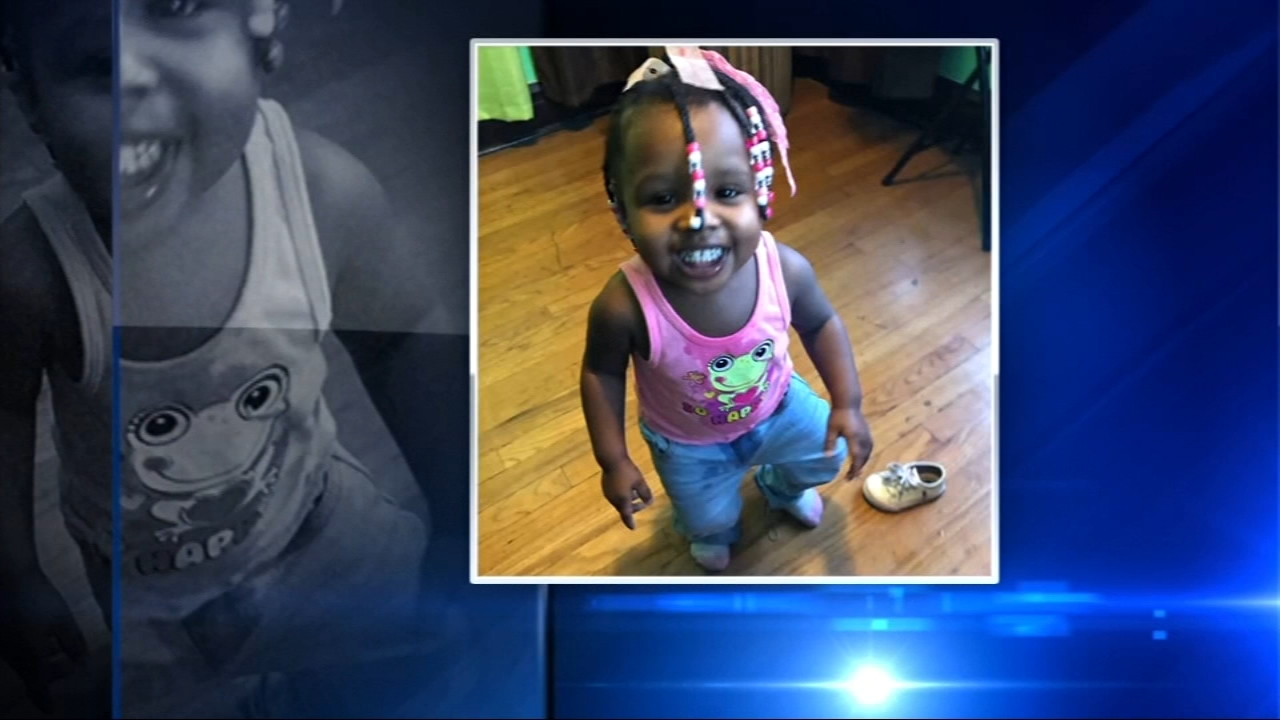 A 23-month-old girl who was killed after being ejected from a car in a crash on Lower Wacker Drive has been identified.