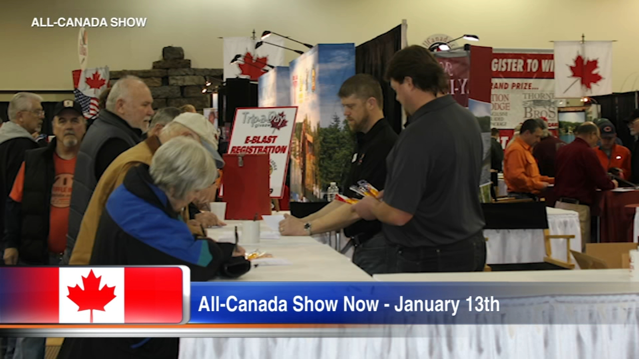The All-Canada Show is an exhibition of all things for your fishing, hunting, and outdoor adventures in Canada.
