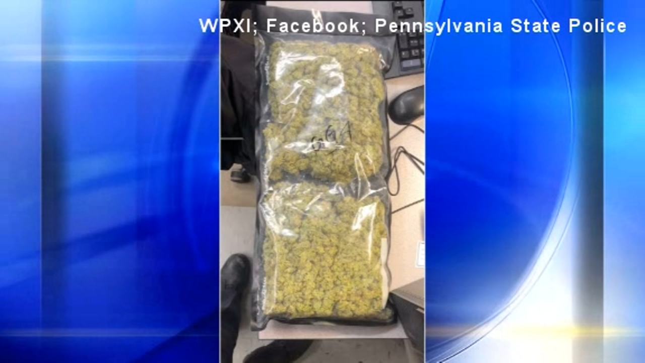 A man forgot two pounds of pot in an Uber and got arrested by undercover police when he tried to retrieve it.