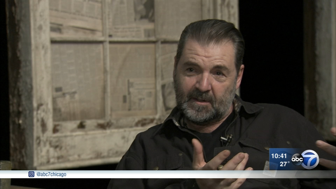 Actor Brendan Coyle plays a theater critic with vampire friends in St. Nicholas, which is playing at the Goodman Theater until Jan. 27.
