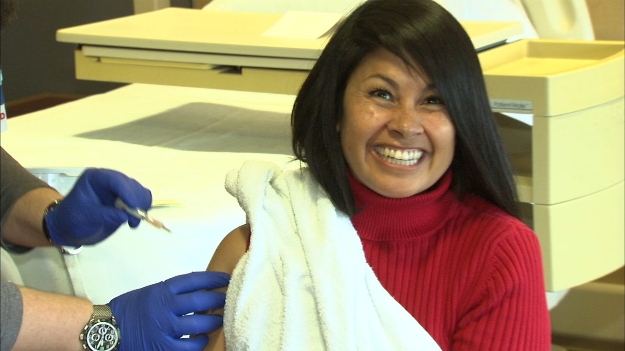 Its never too late to get a flu shot! ABC7s Stacey Baca shows theres nothing to be afraid of.
