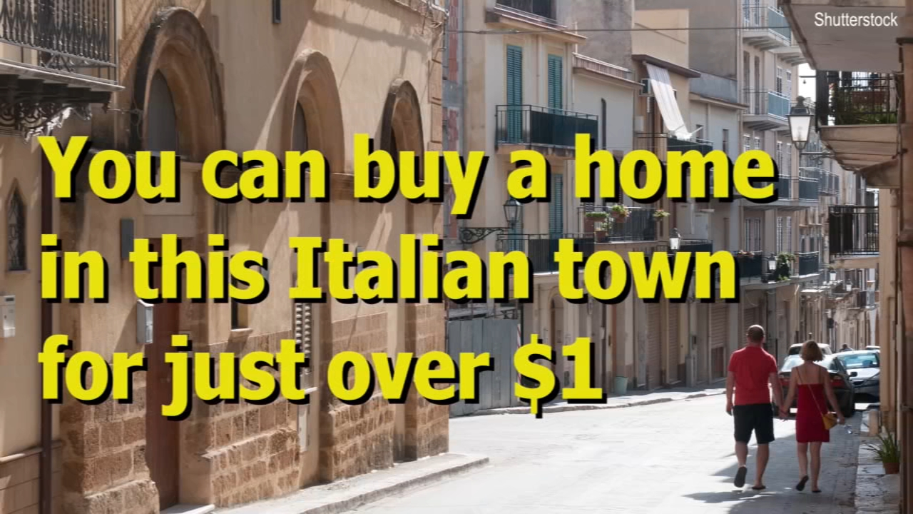 Sambuca, Italy, a hilltop town on the island of Sicily, has placed dozens of homes for sale for €1, or just over a dollar.