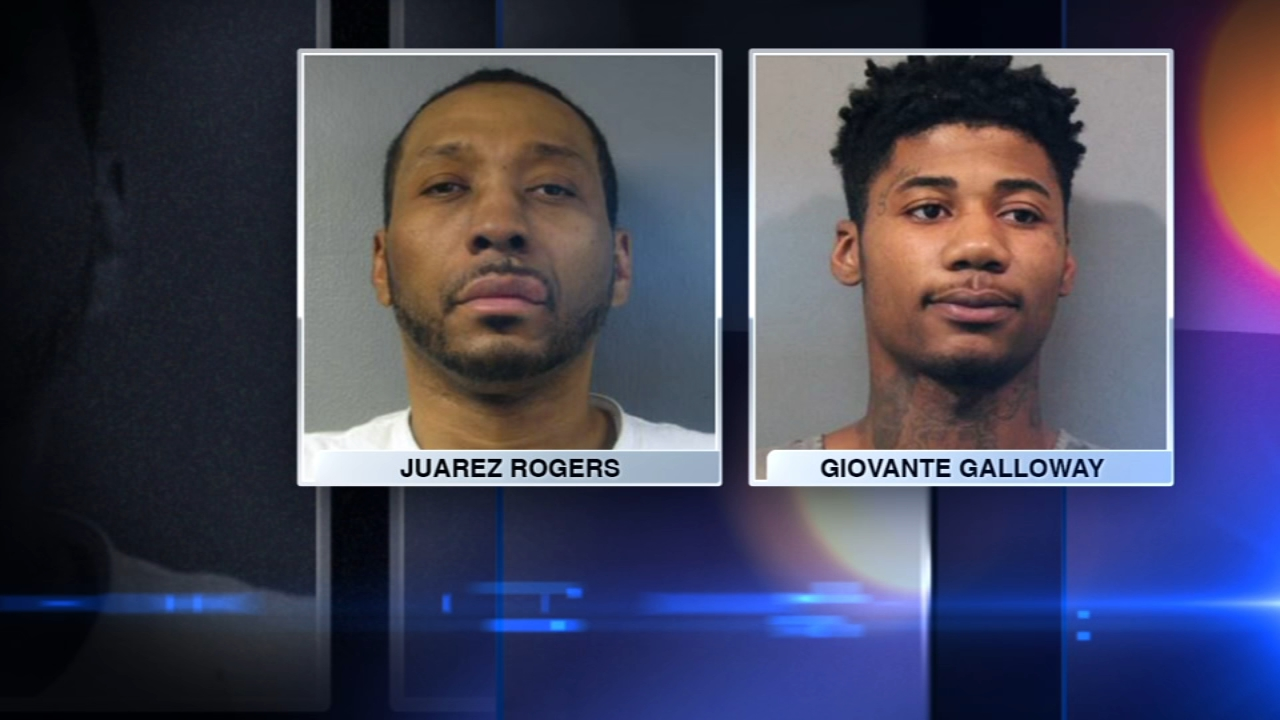 Two men have been charged in the shooting death of a high school student in Griffith, Indiana, police announced Thursday.