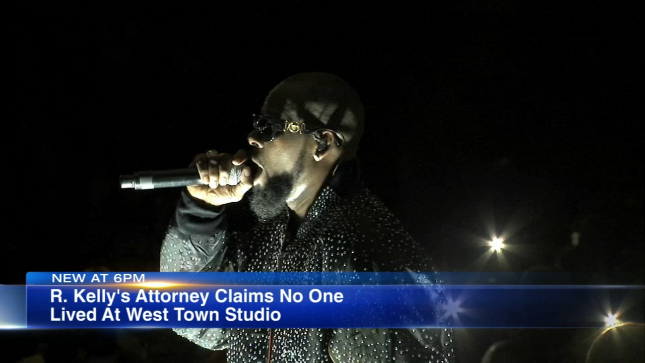 An attorney representing Chicago native R. Kelly addressed the media Thursday, one day after city inspectors found code violations in the embattled R&B singers West Loop recording