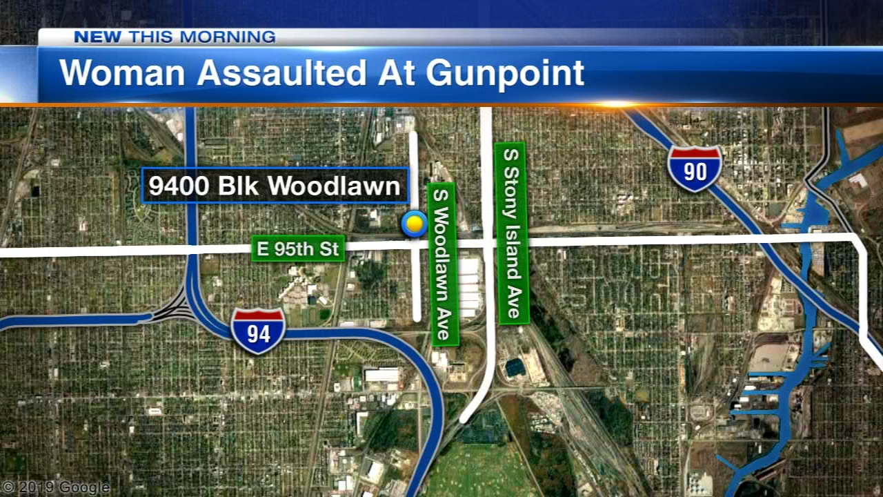 A woman was forced onto railroad tracks and sexually assaulted Tuesday night on the South Side.