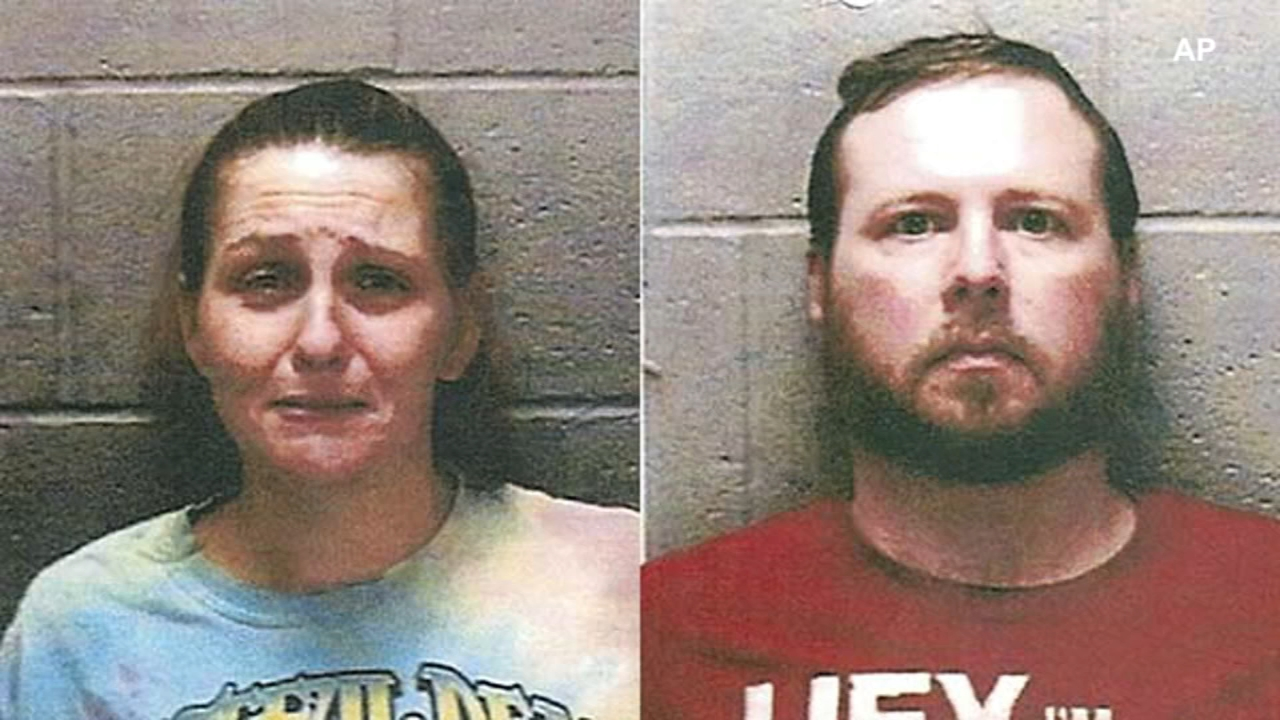 An Illinois father and stepmother will spend decades in prison in the starvation death of their 6-year-old son, who authorities say weighed just 17 pounds when he died.