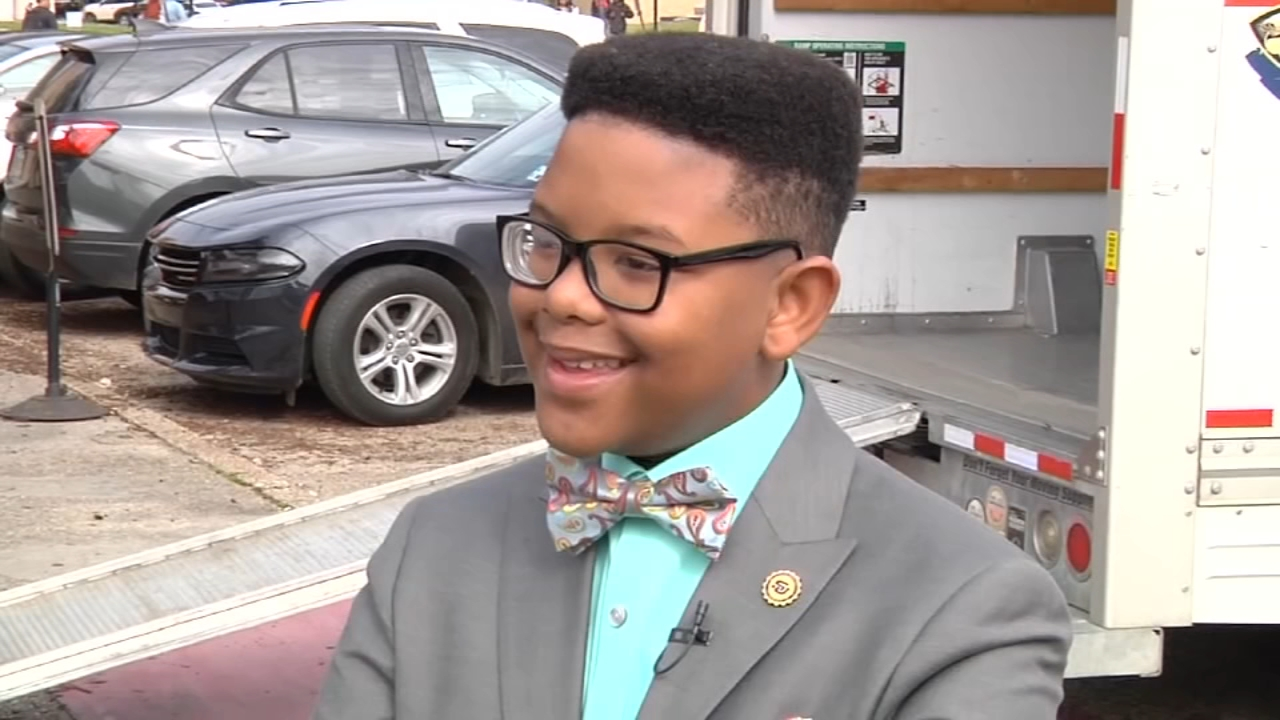 Elijah Precciely started something new this week: college. The 11-year-old just started his undergraduate career at Southern University in Louisiana.
