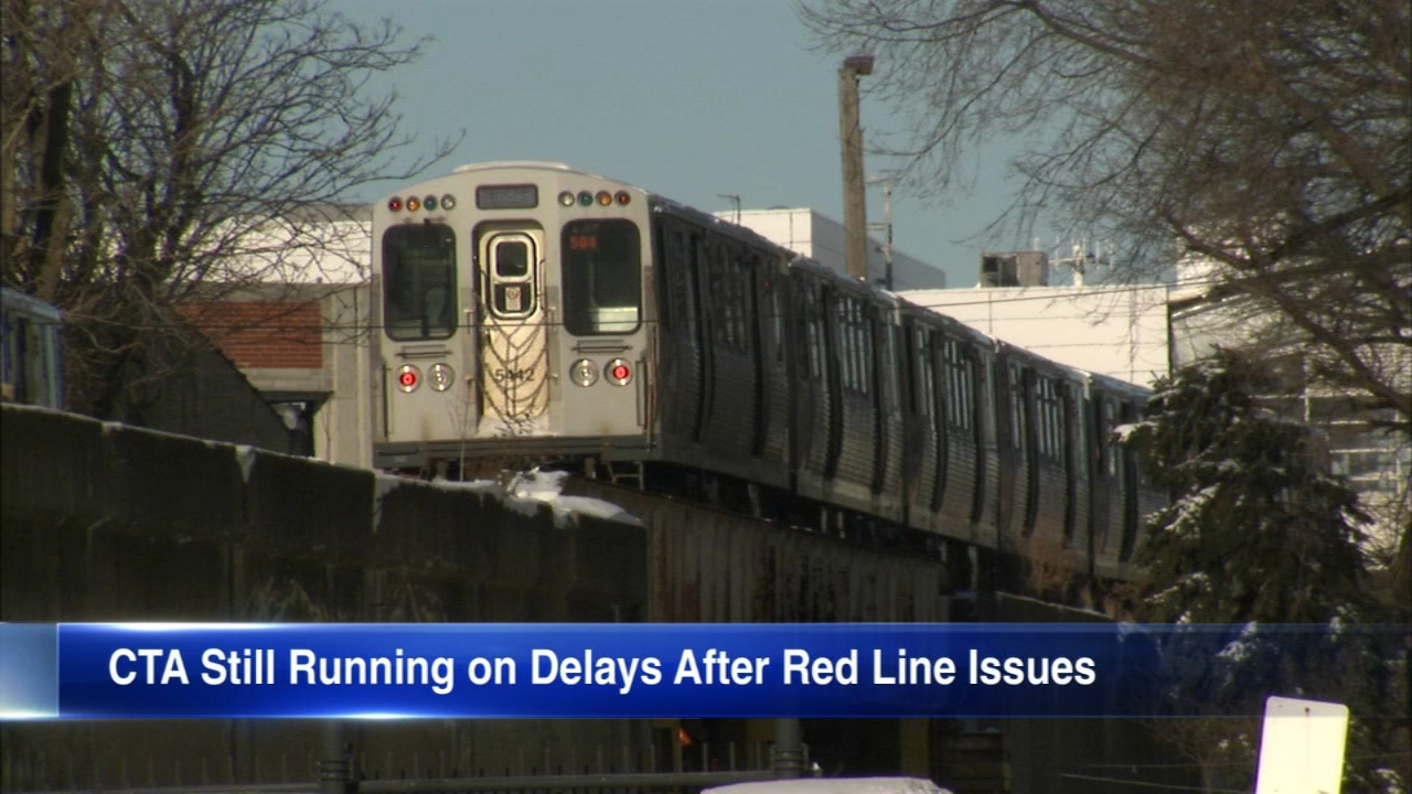 Service was temporarily suspended on both the CTA Red and Yellow lines Sunday morning.