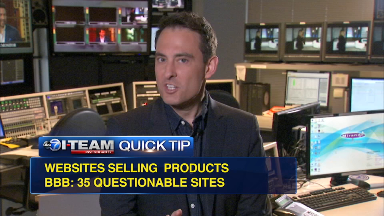 Quick Tip: Questionable websites selling products