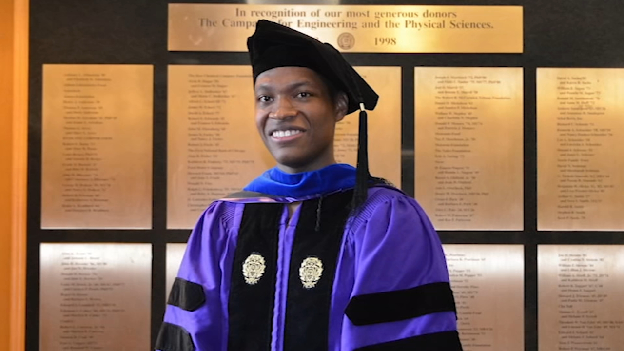 Lawrence Crosby, 28, was a doctoral student at Northwestern University when he was stopped by Evanston police and wrongly accused of stealing a vehicle.