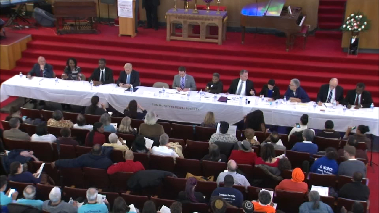 Race, politics and criminal justice reform converged during a mayoral candidate forum Monday.