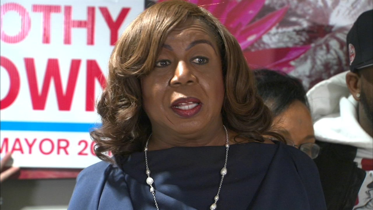 Cook County Clerk Dorothy Brown has been removed from the ballot for mayor of Chicago by the Chicago Board of Elections.