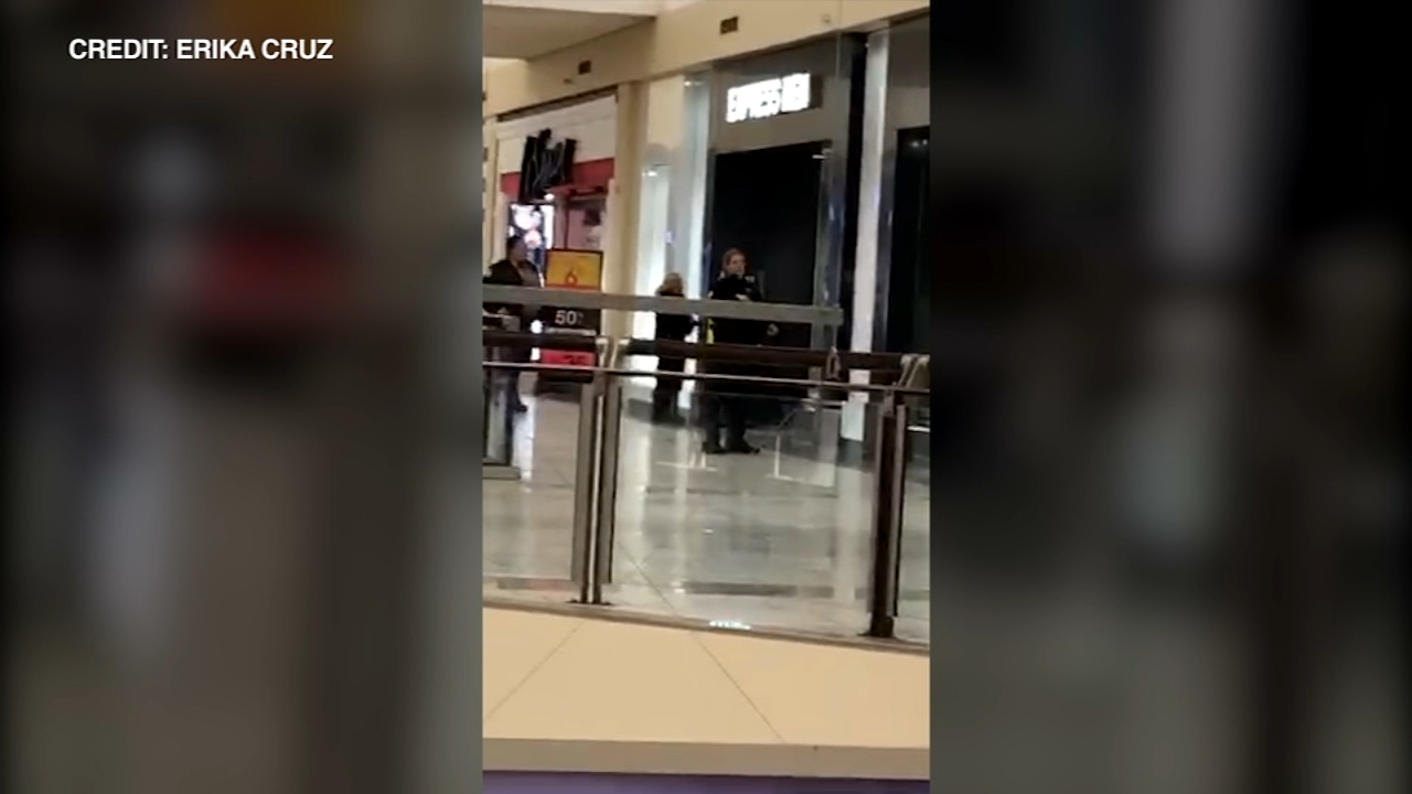 Police are searching for the gunman after an 18-year-old man was killed and another person wounded in a shooting at Orland Square Mall Monday night.