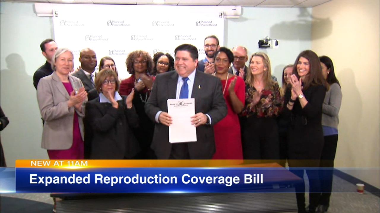 Illinois Governor JB Pritzker signed a controversial law Tuesday morning that gives all women, regardless of income, the ability to make their own decisions about their reproductiv