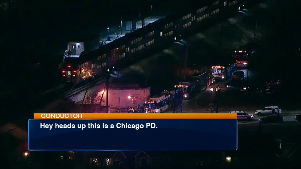 Radio transmissions made by train operators the night two Chicago police officers were killed on Metra tracks on the South Side were released Wednesday night.
