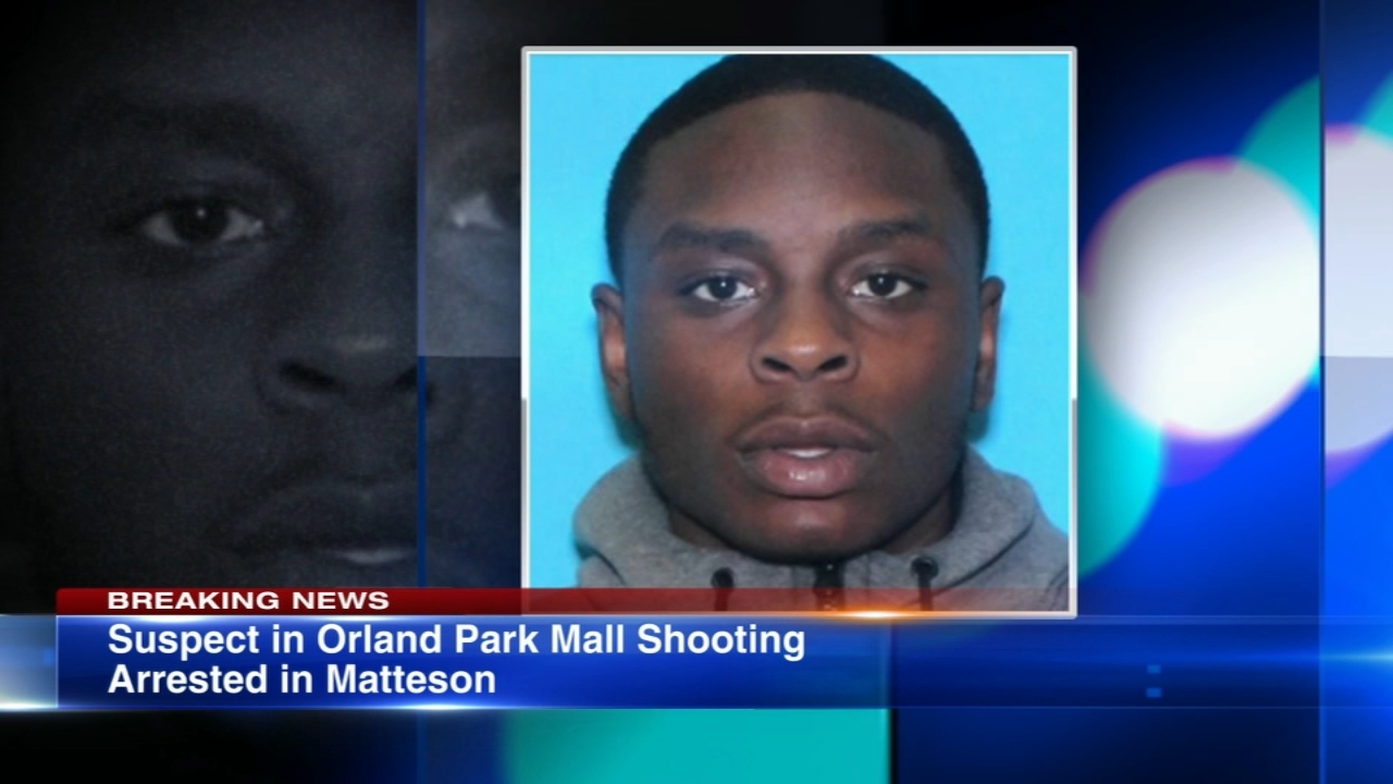 The suspect in the Orland Park mall shooting was taken into custody Wednesday night in south suburban Matteson, the Orland Park police chief said.