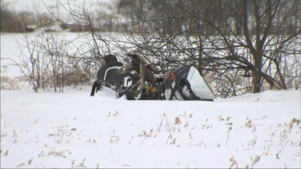 A 32-year-old man in far northwest suburban Harvard was killed early Wednesday morning when his snowmobile struck a tree.
