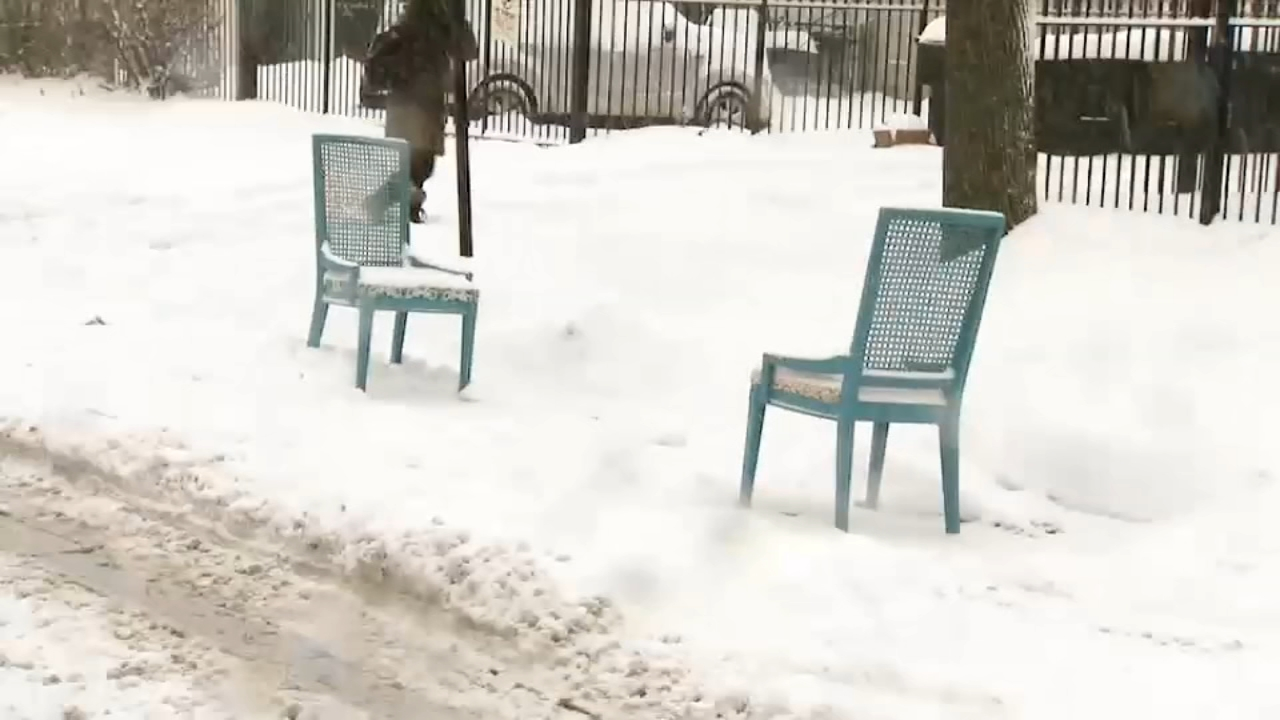 See some of the wild things Chicagoans do to survive winter in the city.