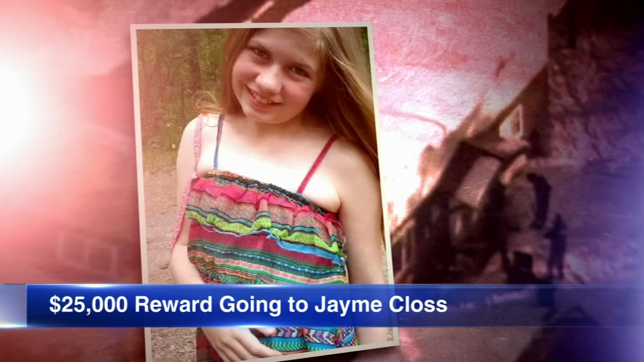 The reward money offered for finding Jayme Closs will now go to the teen herself.